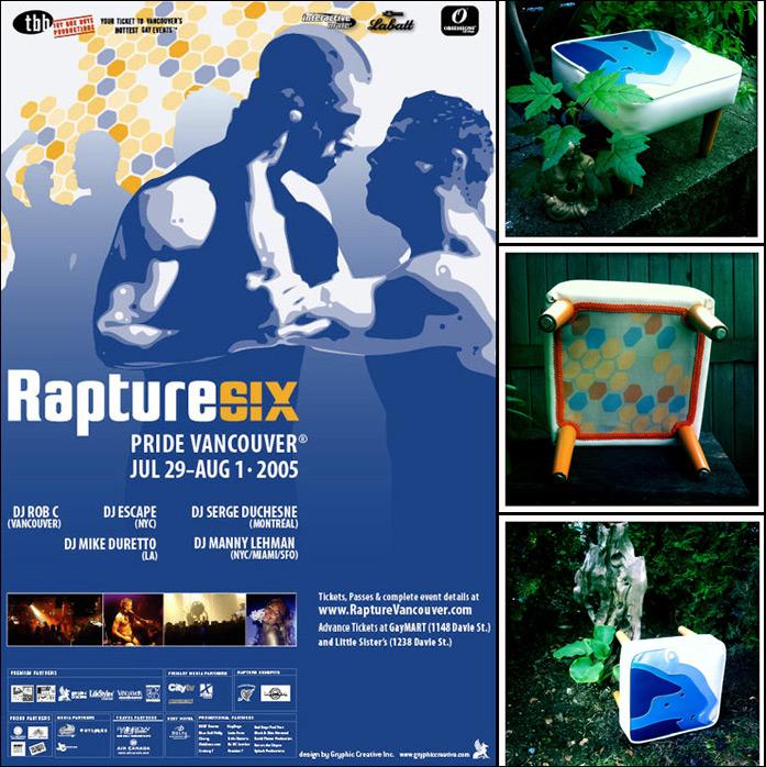 The Rapture Footstool