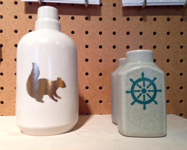 Squirrel Vase