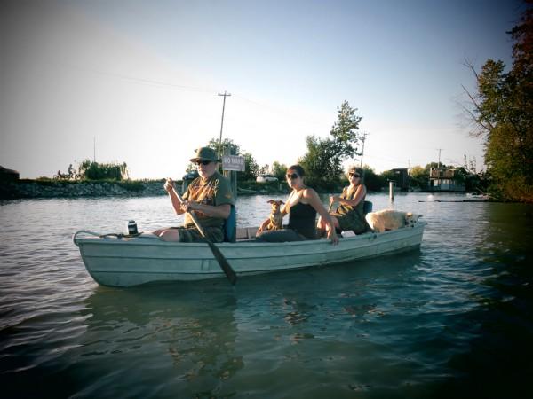 Kapow Dress Goes Boating