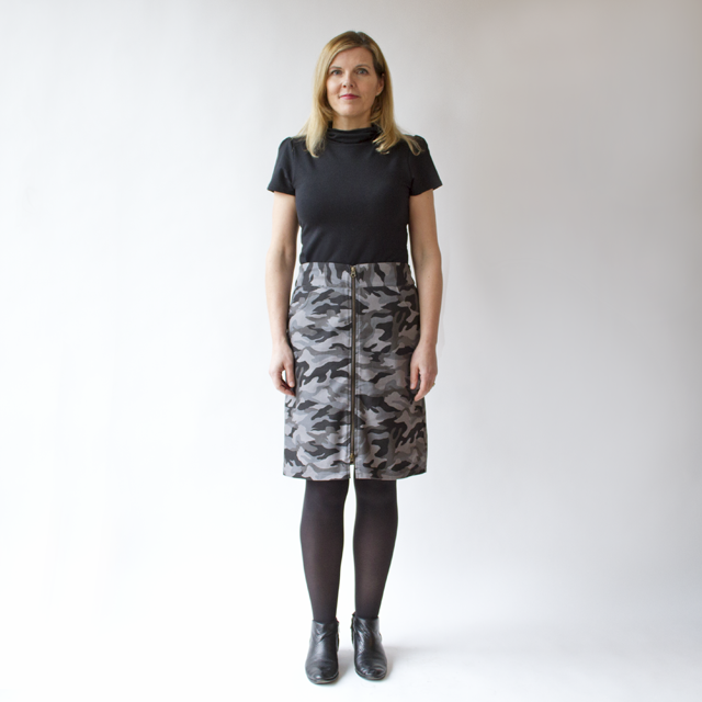 Smoking Lily Harper Lee Skirt in Camouflage
