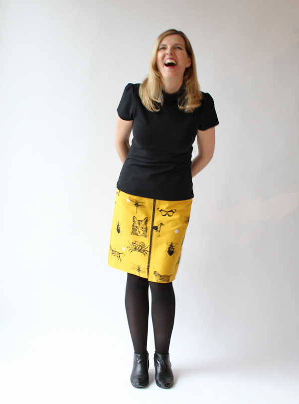 Smoking Lily Harper Lee Skirt